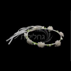 כתר פרחים לשושבינות / כלה