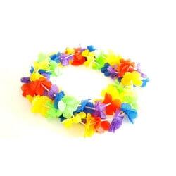 שרשראות הוואי צבעוניות
