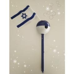 מקל בועות דגל ישראל