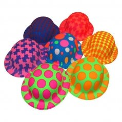 chapeau-couleurs-fluo-plastique