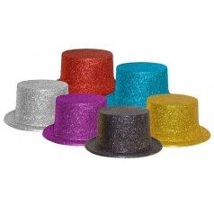 chapeau-haut-de-forme-plastique-paillettes