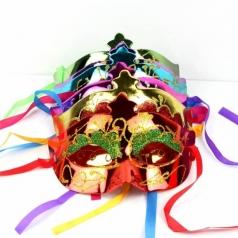 סט 12 מסיכות ונציה צבעוניות