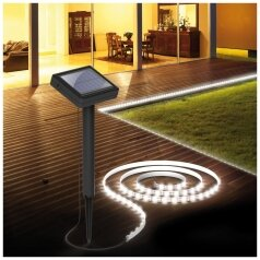 solar led strip solar