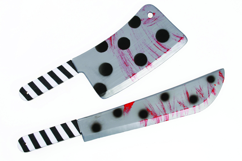 ערכת סכיני הליצן הרוצח - 2 פריטים