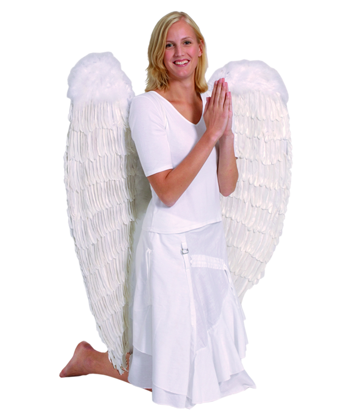 כנפי מלאך לבנות 120 ס