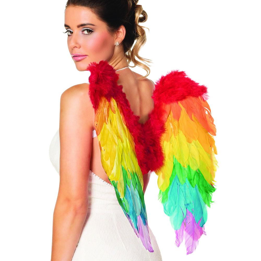 כנפי מלאך צבעי הקשת - 50 ס