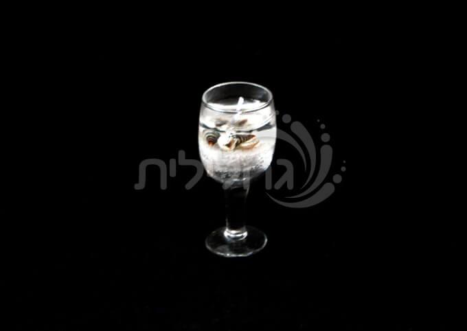 24 נרות ג'ל ריחניים בכוס