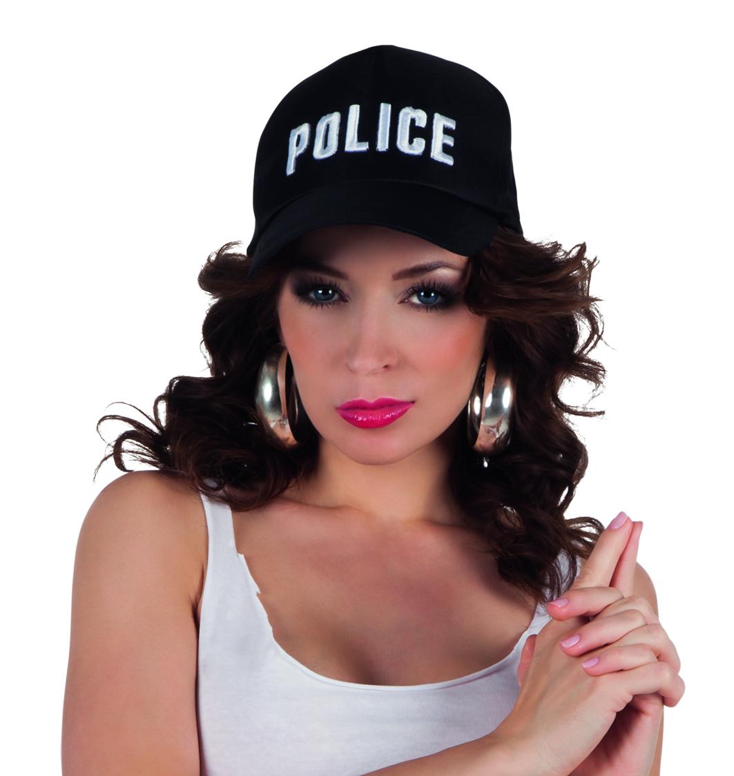 כובע שוטרת Police