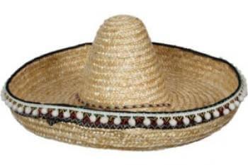 כובע סומבררו מקסיקני צבעוני