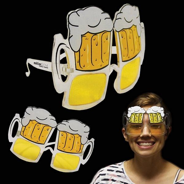 משקפי בירה מצחיקים