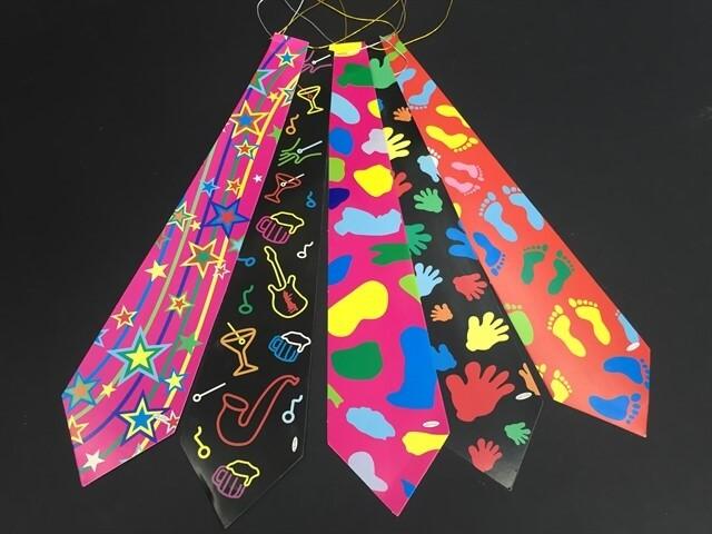 12 עניבות מסיבה