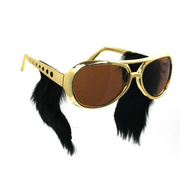 משקפי אלביס זהב ושחור