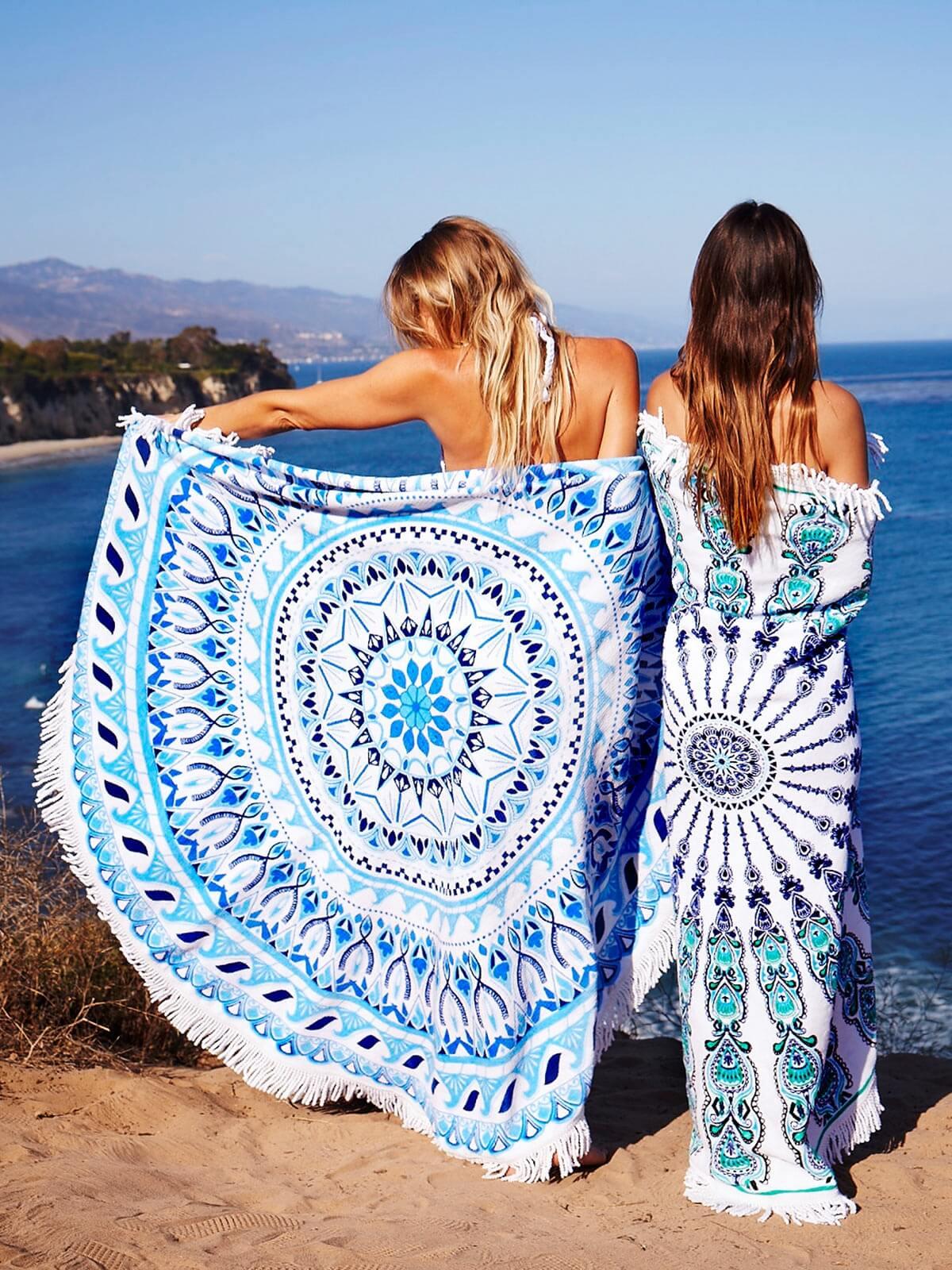 מגבת חוף אופנתית