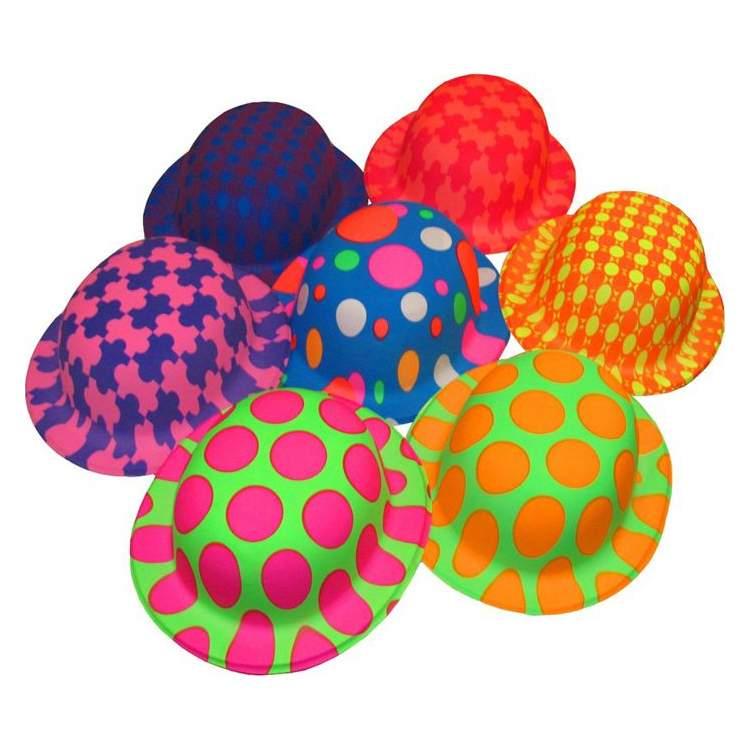 כובעים זרחניים במיקס צבעים