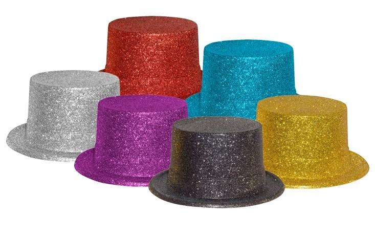 כובע פייטים נוצץ