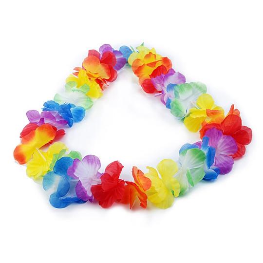 12 שרשראות הוואי מאירות  - Flashing Hawaiian Necklace