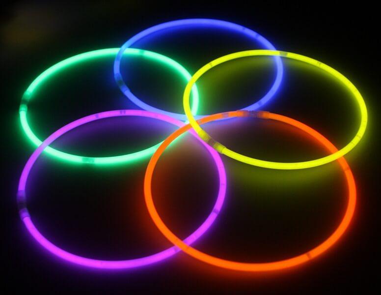 סטיקלייט שרשרת צבעים אחידים