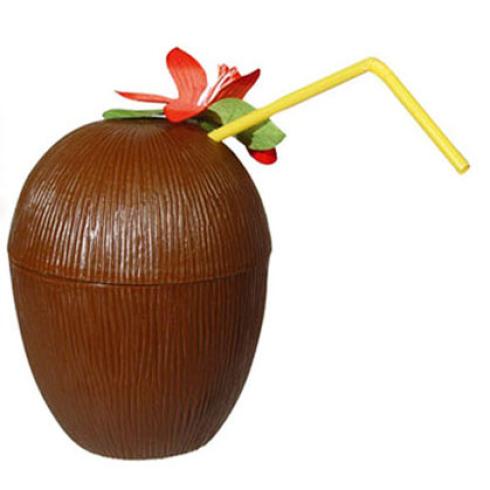 כוס קוקוס לקוקטיילים