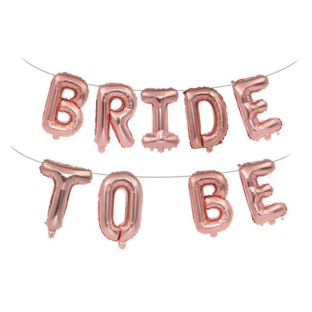 בלוני bride to be למסיבת רווקות